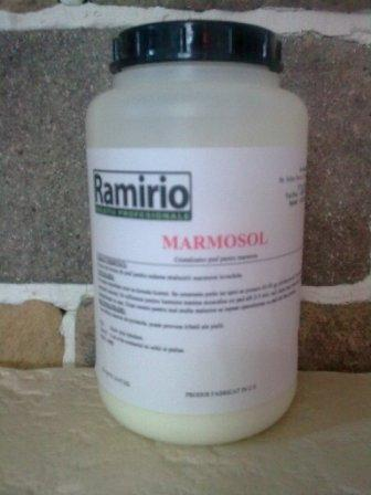 MARMOSOL ( 1 Kg ) - polish pentru marmura invechita, reda stralucirea marmurei invechite
