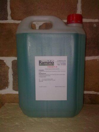 THORN B (10 L) - degresant, detergent amoniacal, dezinfectant pentru suprafete ceramice